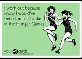 Funny Fitness Quote May the Odds be Ever in Your Favor