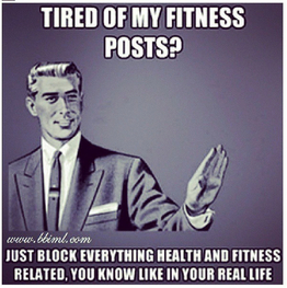 Fitness Posts Sarcasm Funny Quote